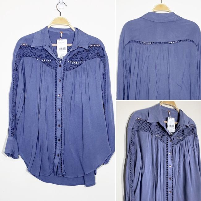 Free People Button Down Shirt Image 4