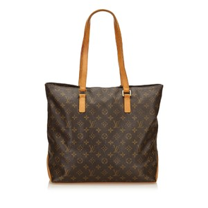 Louis Vuitton 8glvsh089 Vintage Tote in Brown
