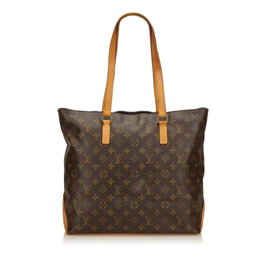 Louis Vuitton 8glvsh089 Vintage Tote in Brown Image 2