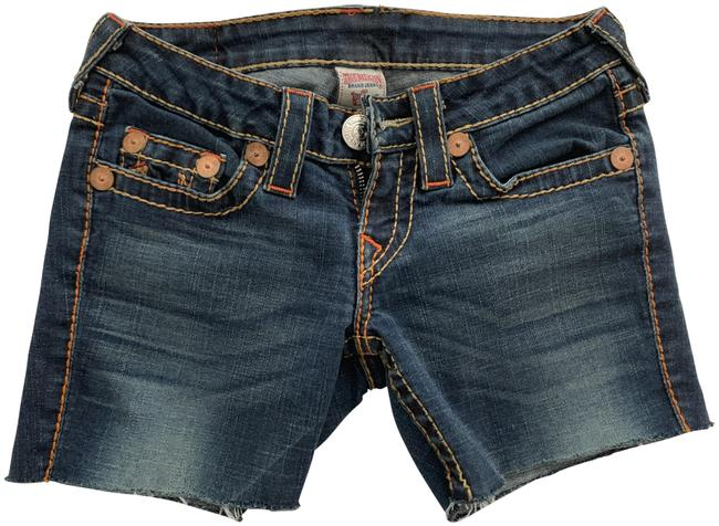 True Religion Womens Cut Off Shorts denim Image 0
