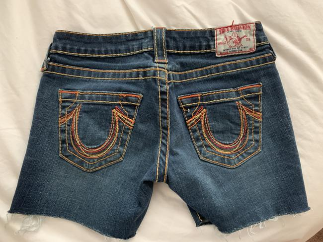True Religion Womens Cut Off Shorts denim Image 1