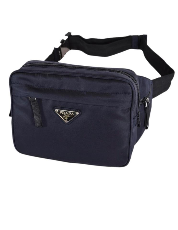 013a6e1bc91b Prada Fanny Pack Blue Cross Body Bag - Tradesy