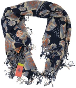 Tory Burch Wallflower 100% wool Scarf