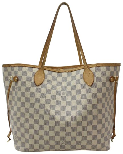 Preload https://img-static.tradesy.com/item/25352226/louis-vuitton-neverfull-damier-azur-mm-870572-white-coated-canvas-tote-0-1-540-540.jpg