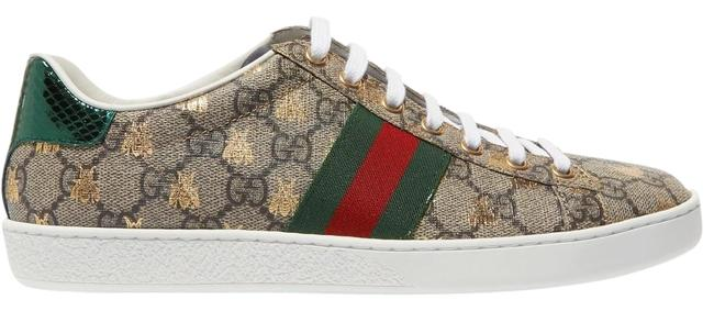 Item - New Ace Supreme Metallic Bee Coated-canvas Sneakers Size EU 42 (Approx. US 12) Regular (M, B)