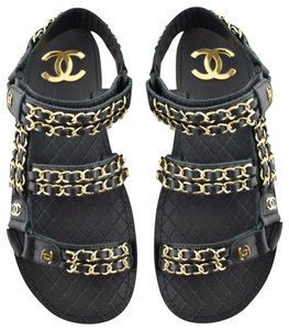 8e77eee9 Chanel Sandals on Sale - Up to 70% off at Tradesy