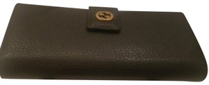 Gucci Real leather black Gucci wallet