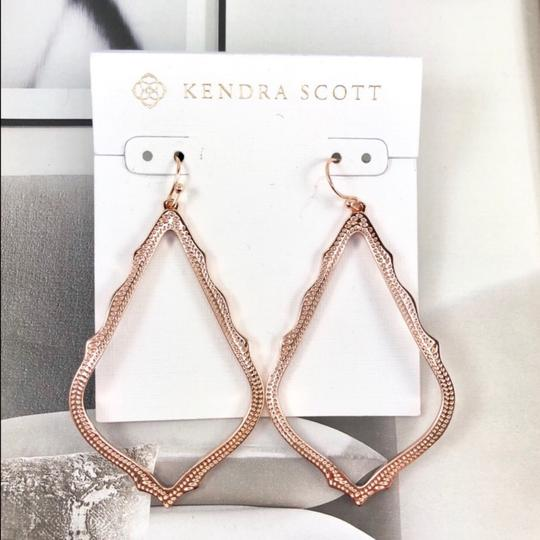Kendra Scott Kendra Scott Rose Gold Sophee Earrings Image 1