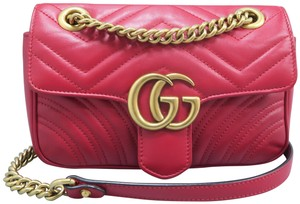 11524ee6a7c68c Gucci Gg Marmont Matelasse Mini Shoulder Bag