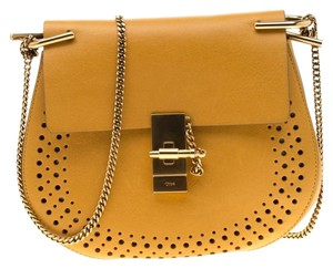 Chloé Leather Suede Shoulder Bag