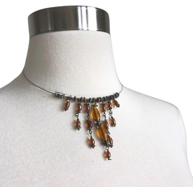 Item - Brown Halo Choker Necklace