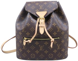 f7303503539a Louis Vuitton Lv Montsouris Monogram Canvas Backpack