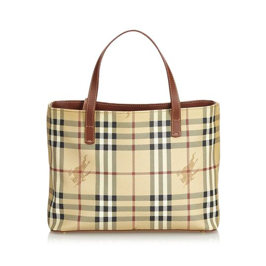 Preload https://img-static.tradesy.com/item/25353633/burberry-haymarket-check-handbag-united-kingdom-brown-plastic-leather-shoulder-bag-0-0-540-540.jpg