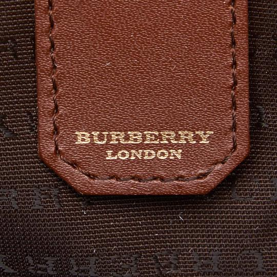 Burberry 9dbuhb004 Vintage Plastic Leather Shoulder Bag Image 5