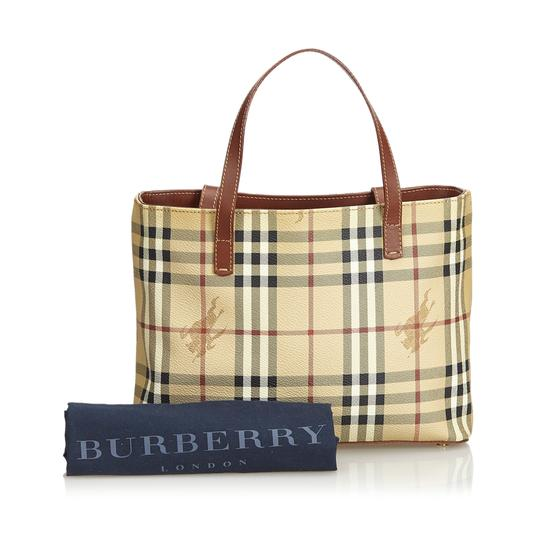 Burberry 9dbuhb004 Vintage Plastic Leather Shoulder Bag Image 8