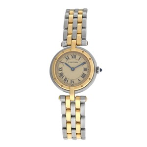Cartier Ladies Cartier Panthere Vendome 1057920 Two Row Gold Steel Quartz 24MM