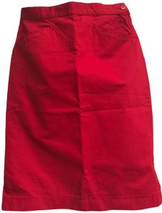 United Colors of Benetton Vintage Skirt Red