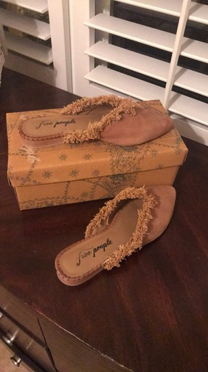 Free People taupe Mules Image 2