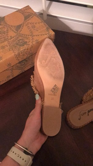 Free People taupe Mules Image 3
