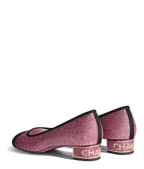 Chanel Patent Patent Leather Ballerina Pink Flats Image 11