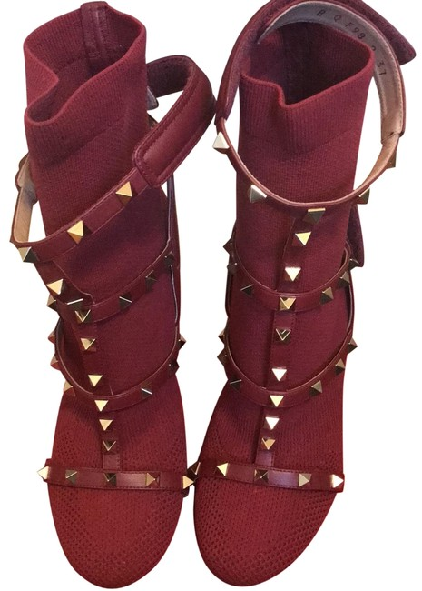 Item - Red Qw2sof98 Boots/Booties Size US 7 Regular (M, B)