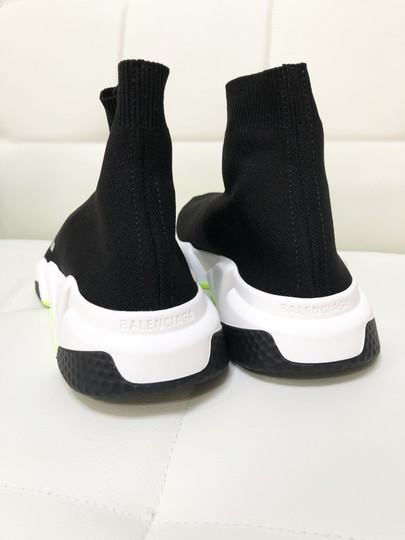 Balenciaga Speed Trainers Sneakers Speed Trainers Black and Neon Yellow Athletic Image 5