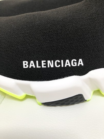 Balenciaga Speed Trainers Sneakers Speed Trainers Black and Neon Yellow Athletic Image 8