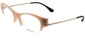 Versace VE3226B-5186 Cat Eye Women's Matte Pink Frame 51mm Genuine Eyeglasses