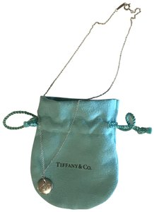 """Tiffany & Co. Tiffany & Co. Notes Letter """"P"""" Charm Necklace"""