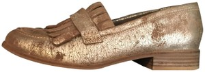 Seychelles Loafers Supportive Gold Metallic Flats