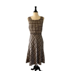 Sundance short dress Brown on Tradesy