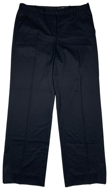 Preload https://img-static.tradesy.com/item/25356296/hugo-boss-blue-dress-pant-wool-navy-gray-stripes-6-trouserwide-leg-jeans-size-29-6-m-0-1-650-650.jpg