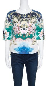 Stella McCartney Print Cotton Detail Top Multicolor