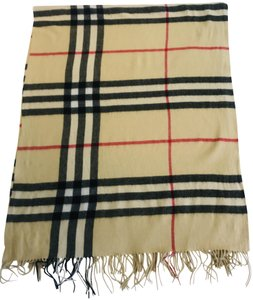 Burberry cashmere large scarf