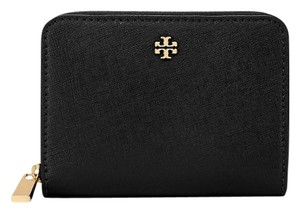 Tory Burch Tory Burch Emerson Saffiano Leather Zip Coin Case