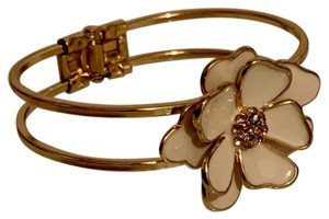New York & Company Flower Hinge Bracelet