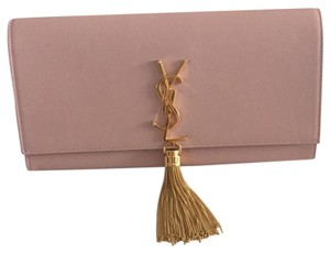 Saint Laurent pale pink Clutch