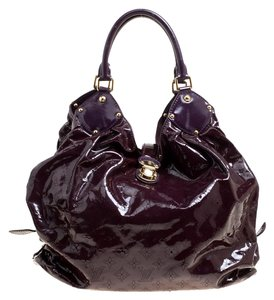 Louis Vuitton Patent Leather Hobo Bag