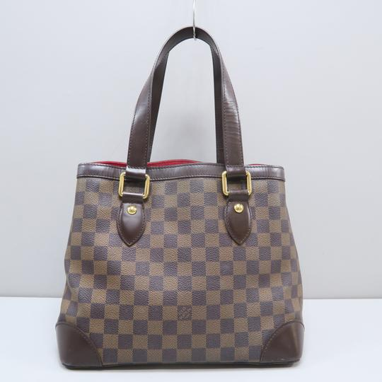 Louis Vuitton Lv Hampstead Pm Ebene Canvas Tote in Brown Image 1