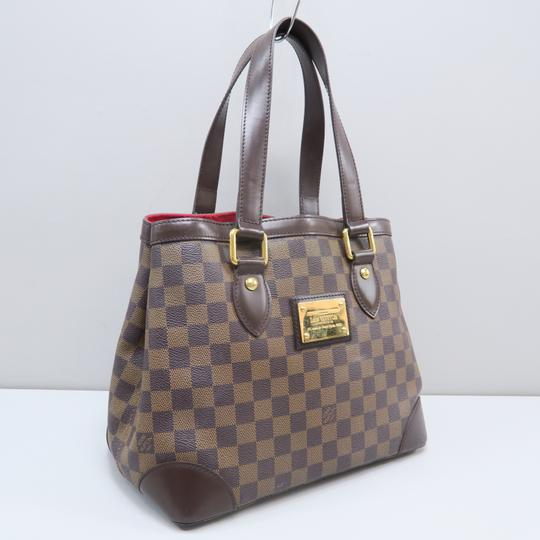 Louis Vuitton Lv Hampstead Pm Ebene Canvas Tote in Brown Image 2