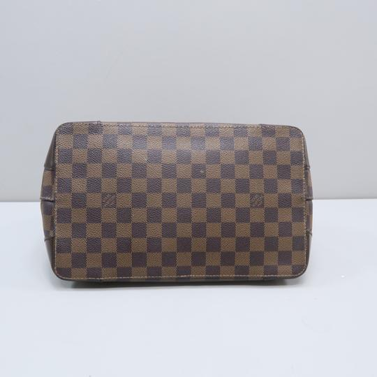 Louis Vuitton Lv Hampstead Pm Ebene Canvas Tote in Brown Image 3