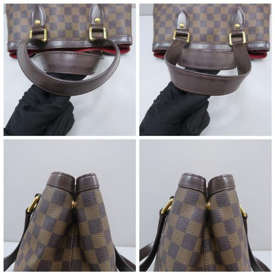Louis Vuitton Lv Hampstead Pm Ebene Canvas Tote in Brown Image 5