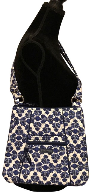 Item - Hipster In Cobalt Tile Cotton Cross Body Bag