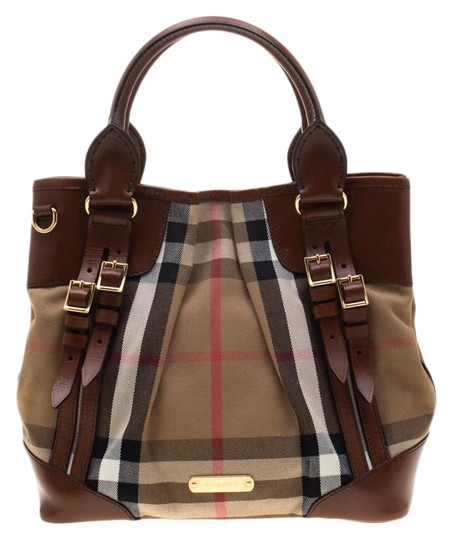 Preload https://img-static.tradesy.com/item/25358407/burberry-house-check-and-leather-bridle-whipstitch-tote-brown-canvas-shoulder-bag-0-1-540-540.jpg