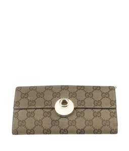 Gucci Gucci 120931 Eclipse GG Canvas Snap Wallet (171526)