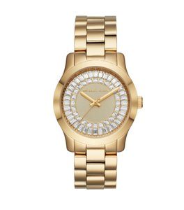 7a08a984ffd7 Gold Michael Kors Watches - Up to 70% off at Tradesy (Page 4)