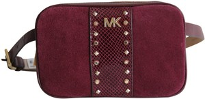 Michael Kors Michael Kors Studded Leather and Suede Fanny Pack Size L XL