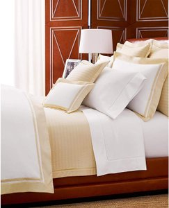 Ralph Lauren Hollywood Cream Reed 4 Pc Quilted Coverlet Full/Queen Shams Other