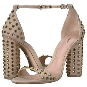 SCHUTZ nude and gold Formal