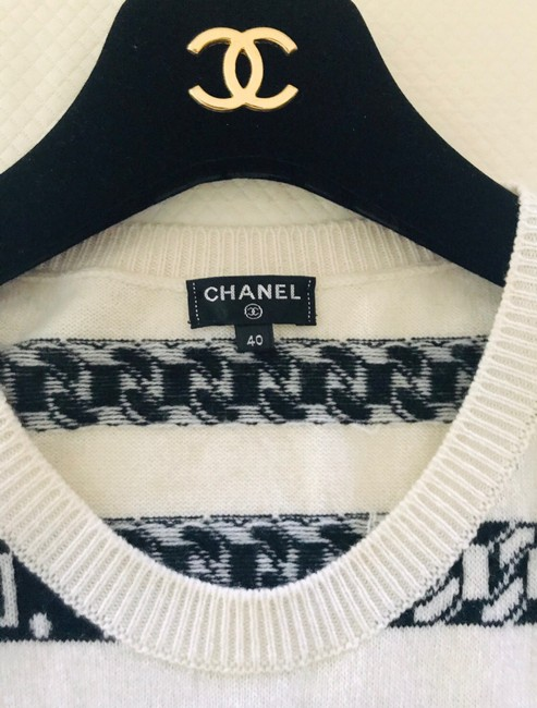 Chanel short dress white and blue on Tradesy Image 3